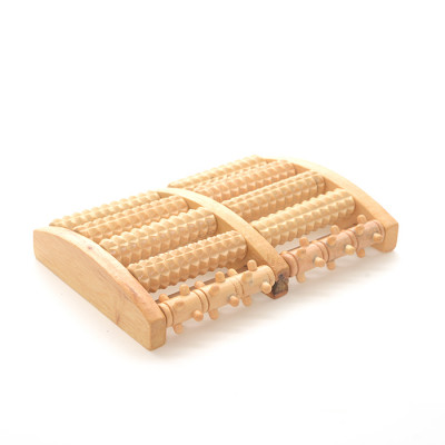 Lotus Wood Foot Massager